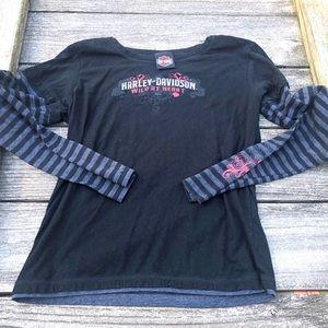 Harley Davidson l/s T-shirt women's Medium